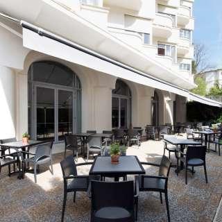 Hôtel Le Grand Pavois terrasse